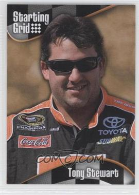 2008 Press Pass Starting Grid #SG 8 - Tony Stewart