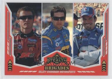 2008 Press Pass Stealth Chrome Exclusives #66 - Kasey Kahne, Elliot Sadler, Patrick Carpentier /25