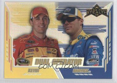 2008 Press Pass Stealth Chrome Exclusives #78 - Kevin Harvick /25