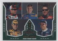 Greg Biffle, Carl Edwards, Matt Kenseth, Jamie McMurray, David Ragan