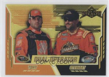 2008 Press Pass Stealth Gold Chrome Exclusives #81 - Tony Stewart /99