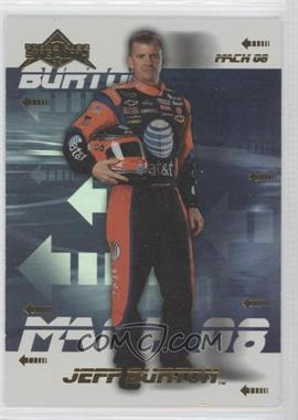 2008 Press Pass Stealth Mach 08 #M8 10 - Jeff Burton
