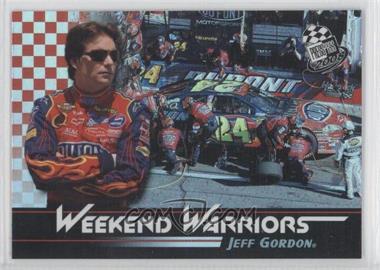 2008 Press Pass Weekend Warriors #1 - Jeff Gordon