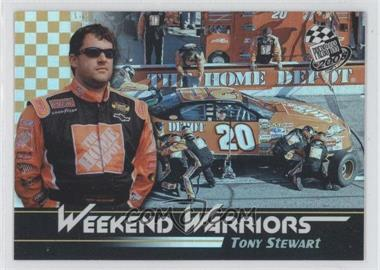 2008 Press Pass Weekend Warriors #WW 2 - Tony Stewart