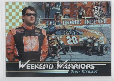 2008 Press Pass Weekend Warriors #WW 2 - Tony Stewart