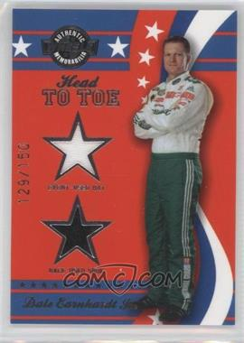 2008 Wheels American Thunder Head to Toe Hat & Shoe #HT 10 - Dale Earnhardt Jr. /150