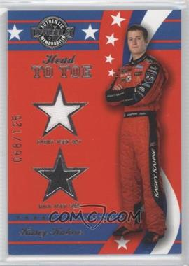 2008 Wheels American Thunder Head to Toe Hat & Shoe #HT 15 - Kasey Kahne /125