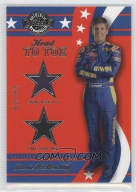 2008 Wheels American Thunder Head to Toe Hat & Shoe #HT 2 - Jamie McMurray /99