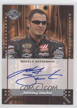 2008 Wheels Autographs #JOSA - Johnny Sauter