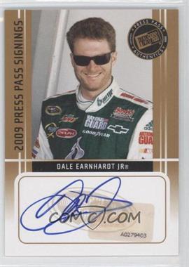 2009 Press Pass - Press Pass Signings - [Autographed] #DAEA - Dale Earnhardt Jr.