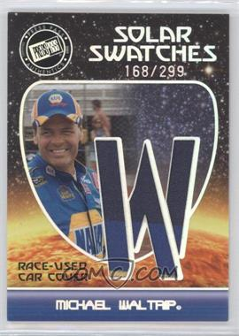 2009 Press Pass Eclipse Solar Swatches #SSMW 1 - Michael Waltrip /299