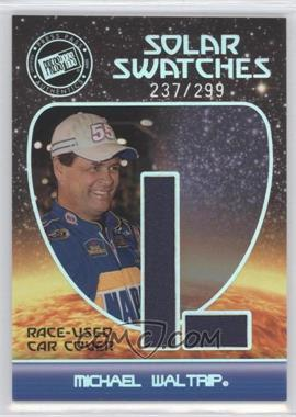 2009 Press Pass Eclipse Solar Swatches #SSMW 3 - Michael Waltrip (L) /299