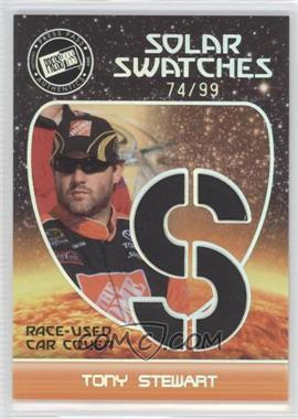2009 Press Pass Eclipse Solar Swatches #SSTS 1 - Tony Stewart (S) /99