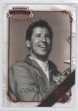 2009 Press Pass Legends - [???] #4 - Mario Andretti /199