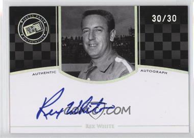 2009 Press Pass Legends - [???] #N/A - Rex White /30