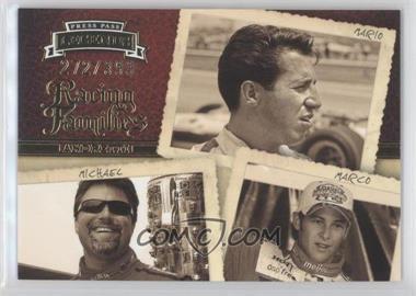 2009 Press Pass Legends - [Base] #57 - Racing Families - Mario Andretti, Michael Andretti, Marco Andretti /399