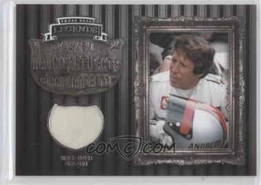 2009 Press Pass Legends [???] #MAA-F - Mario Andretti /50