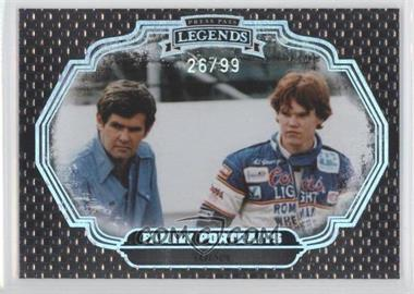 2009 Press Pass Legends Family Portraits Holofoil #FP24 - Unser /99