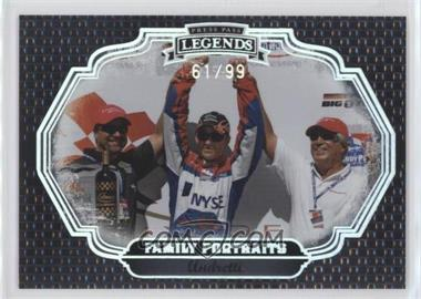 2009 Press Pass Legends Family Portraits Holofoil #FP9 - Andretti /99