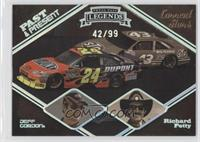 Jeff Gordon, Richard Petty /99