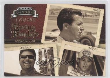 2009 Press Pass Legends #57 - Racing Families - Mario Andretti, Michael Andretti, Marco Andretti /399