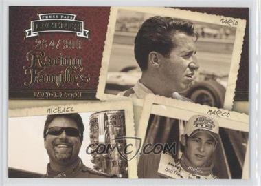 2009 Press Pass Legends #57 - Racing Families - Mario Andretti, Michael Andretti, Marco Andretti /399