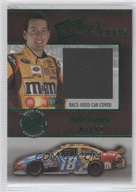 2009 Press Pass Pieces Materials Green #PP-KB - Kyle Busch /99