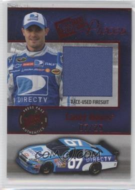 2009 Press Pass Pieces Materials Red #PP-CM - Casey Mears /25