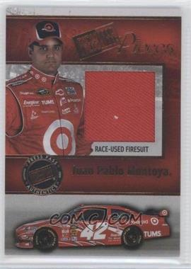 2009 Press Pass Pieces Materials #PP-JM - Juan Pablo Montoya