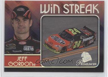 2009 Press Pass Premium - Win Streak #WS 3 - Jeff Gordon
