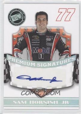2009 Press Pass Premium Premium Signatures #N/A - Sam Hornish Jr.