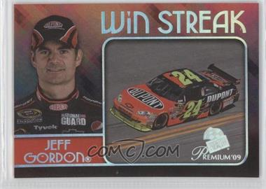 2009 Press Pass Premium Win Streak #WS 3 - Jeff Gordon