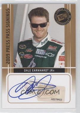 2009 Press Pass Press Pass Signings [Autographed] #DAEA - Dale Earnhardt Jr.