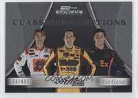Kyle Busch, Denny Hamlin, Joey Logano /499