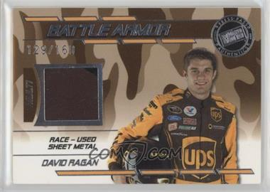 2009 Press Pass Stealth - Battle Armor - Multi-color #BA - DR - David Ragan /160