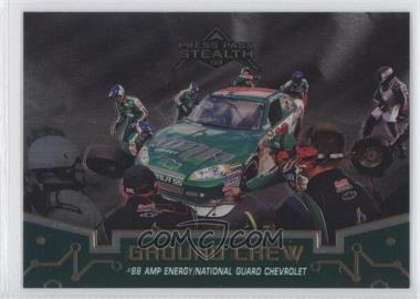 2009 Press Pass Stealth Chrome Brushed Metal #63 - Dale Earnhardt Jr. /25