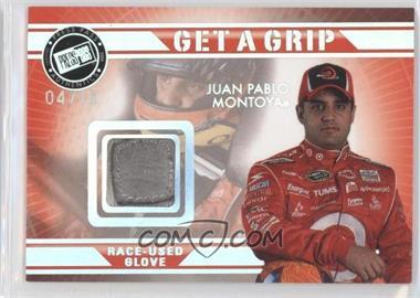2009 Press Pass VIP - Get a Grip Gloves - Holofoil #GG-JM - Juan Pablo Montoya /10