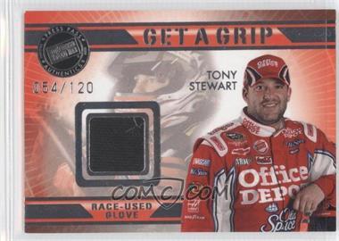 2009 Press Pass VIP - Get a Grip Gloves #GG-TS - Tony Stewart /120