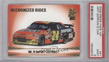 2009 Press Pass VIP [???] #41 - Jeff Gordon [PSA 9]