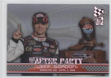 2009 Press Pass VIP After Party Transparent #AP 7 - Jeff Gordon