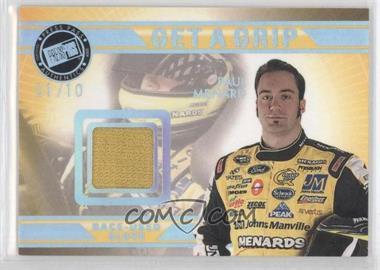 2009 Press Pass VIP Get a Grip Gloves Holofoil #GG-PM - Paul Menard /10