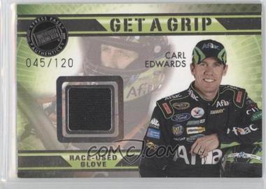 2009 Press Pass VIP Get a Grip Gloves #GG-CE - Carl Edwards /120