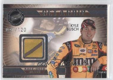 2009 Press Pass VIP Get a Grip Gloves #GG-KB - Kyle Busch /120