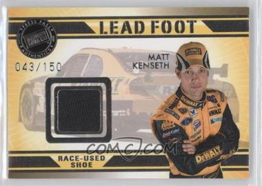 2009 Press Pass VIP Lead Foot #LF-MK - Matt Kenseth /150
