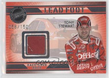 2009 Press Pass VIP Lead Foot #LF-TS - Tony Stewart /150