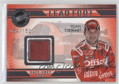 2009 Press Pass VIP Lead Foot #LF-TS - Tony Stewart /150