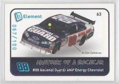 2009 Wheels Element Radioactive #63 - Dale Earnhardt Jr. /100