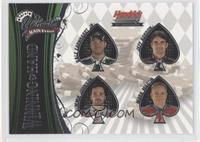 Dale Earnhardt Jr., Jeff Gordon, Jimmie Johnson, Mark Martin