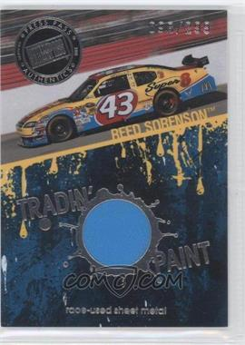 2010 Press Pass - Tradin' Paint - Silver Race-Used #TP-RS - Reed Sorenson /299