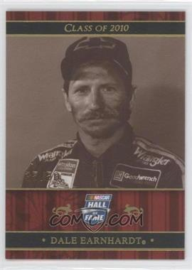 2010 Press Pass Class of 2010 Holofoil #NHOF 76 - Dale Earnhardt /50